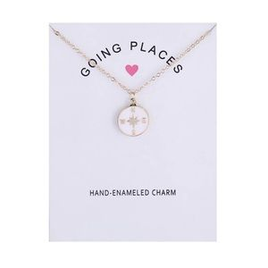 """Inspirational """"Going Places"""" Necklace"""